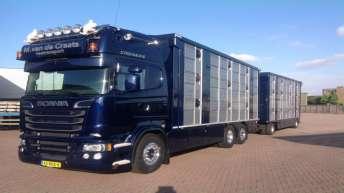 Scania R520 voor M. van de Craats
