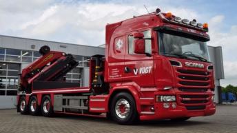 Scania R520 voor Geurs BV Hengevelde