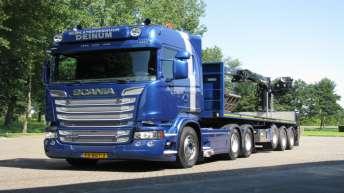 Scania R520 voor Rijplatenverhuur Deinum