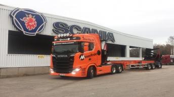 Scania S580 voor Sören Thyr AB (NO)