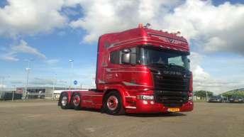 Scania R580 voor Jan Cees Vries