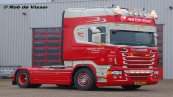 Scania R500 voor Van der Windt