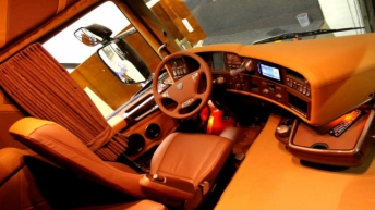 Scania R730 Michel Kramer interieur