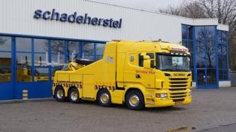 Scania R730 voor Gerritse Berging