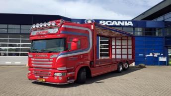 Scania R580 voor Clazing BV
