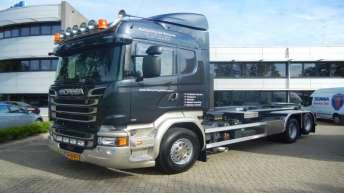 Scania R580 voor Recycling de Betuwe B.v.