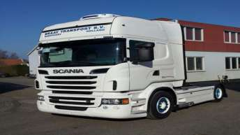 Scania R500 voor Braay Transport
