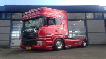 Scania R580 voor Ton Goesinne
