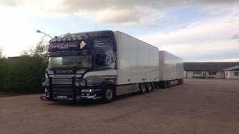 Scania R520 voor Patrick Carlsson