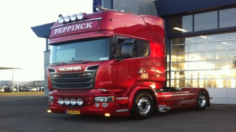 Scania R580 voor Peppinck