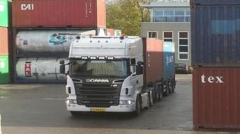 Scania R500 voor Hovetra - Rhoon
