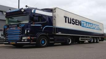 Gebruikte Scania R500 voor Tijsen Transport