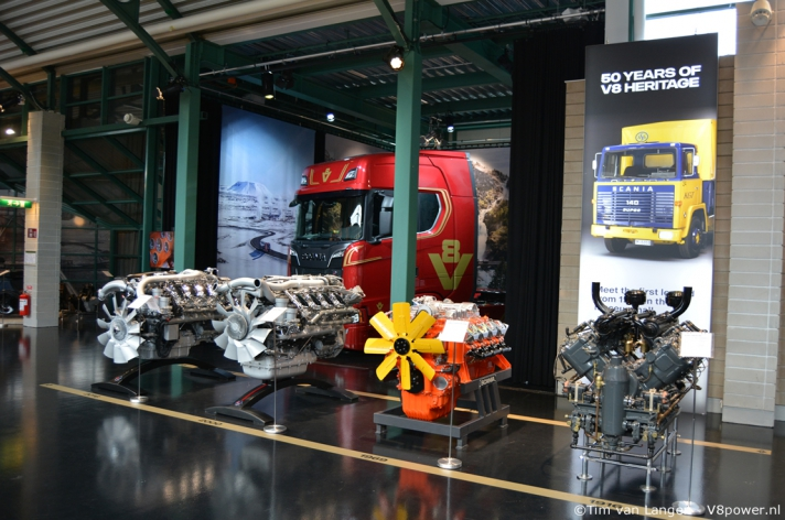 V8power goes Sweden - Scania Museum