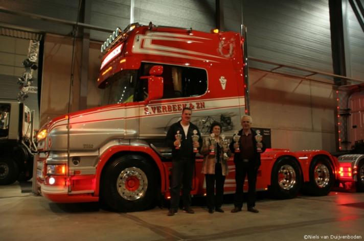 S. Verbeek winnaar Mooiste Scania verkiezing