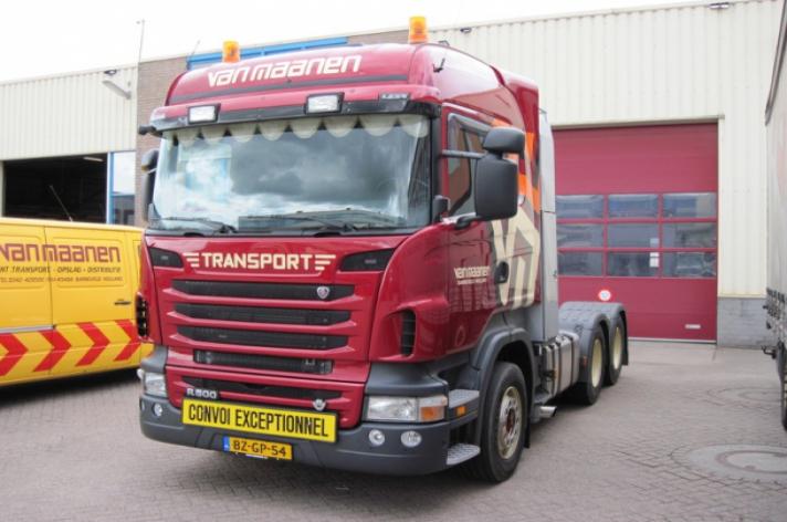 Scania R500 voor Van Maanen