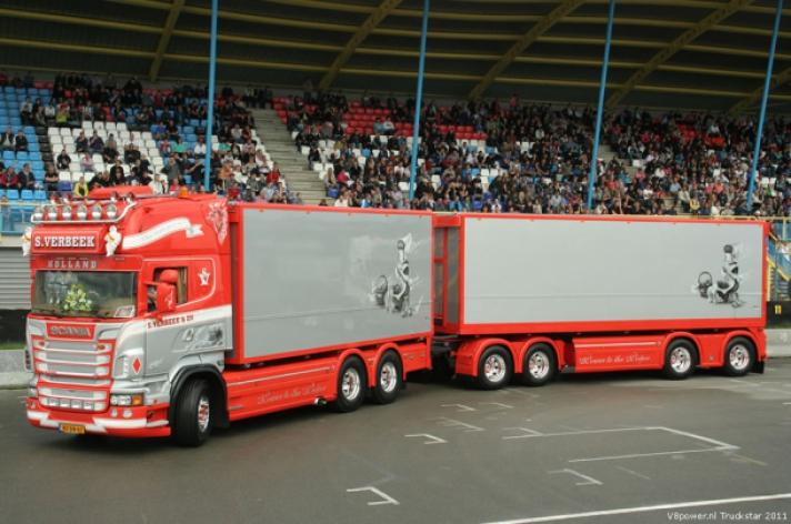 S. Verbeek winnaar Mooiste truck verkiezing