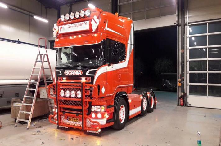 Tweedehands Scania R500 voor Kleinjan's Aardappelhandel B.V