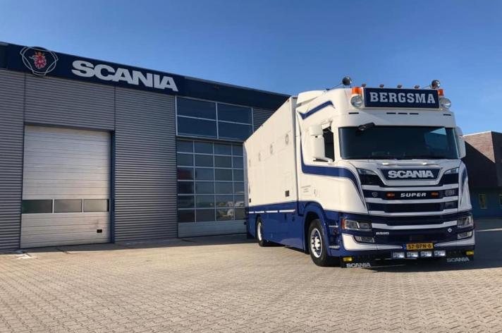 Scania R520 voor Bergsma