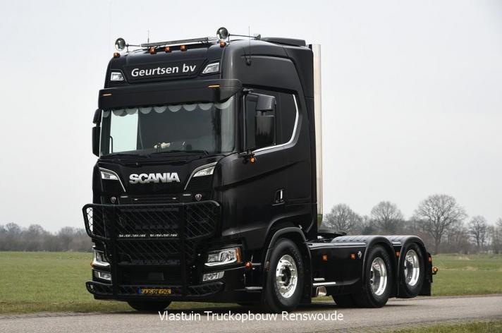 Scania S580 voor Geurtsen BV