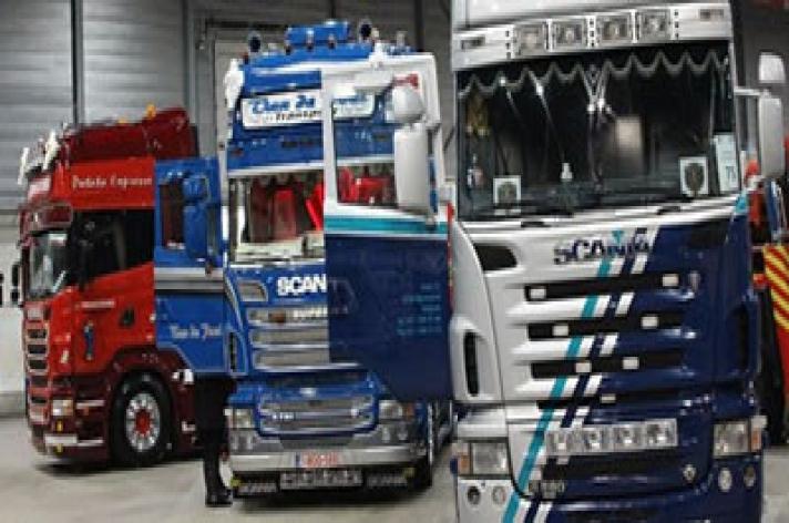 Impressie Trucks Eindejaarsfestijn