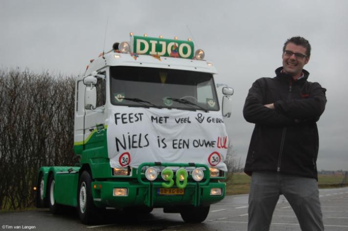 Teamlid Niels van Duijvenboden 30 jaar