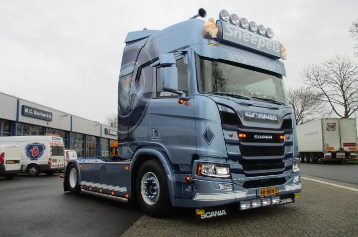 Scania R650 voor Ruud Sneepels
