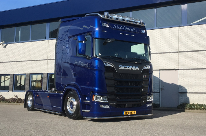 Scania S650 voor Sia Vonk Transport