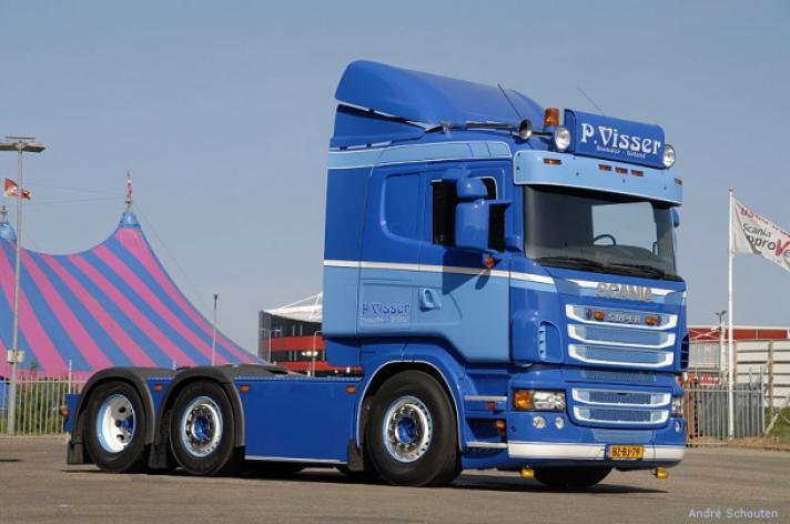 Scania R620 voor P. Visser