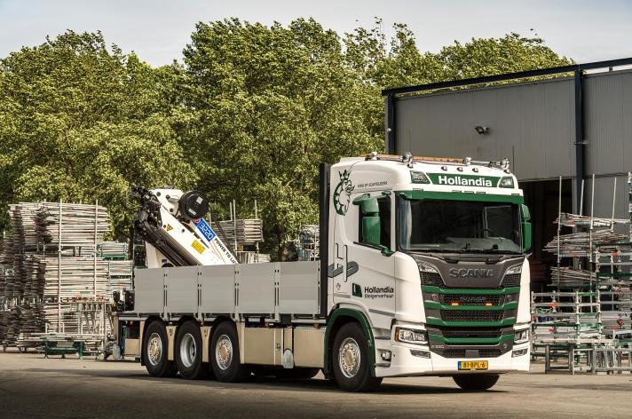 Scania R650 voor Hollandia Steigerverhuur