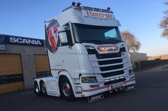 Scania S650 voor Vanneste Agro Transport (B)