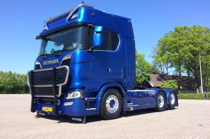 Nieuwe Scania S580 voor Mtrans Eibergen