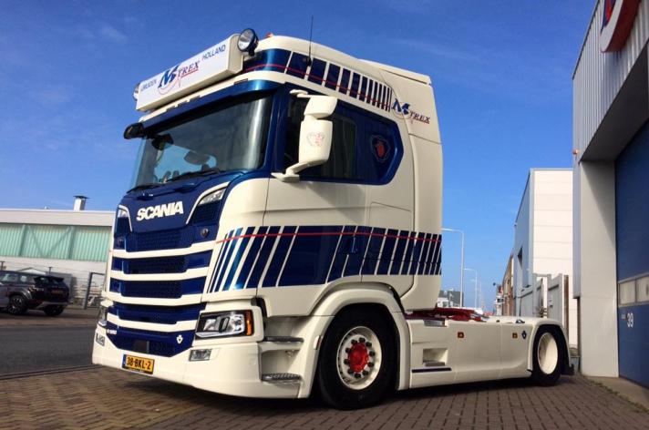 Scania S580 voor M-Trex