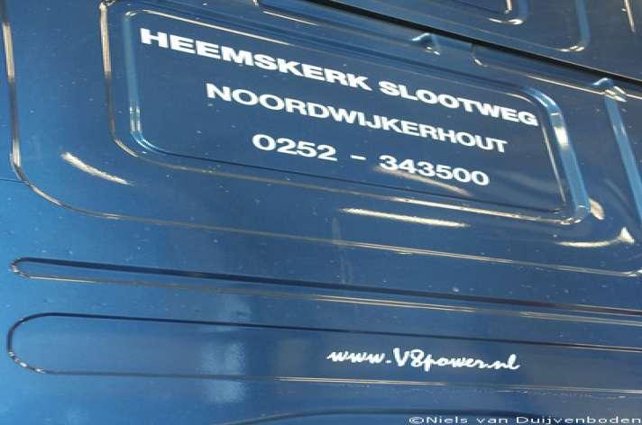 2012 Heemskerk Slootweg 4x V8