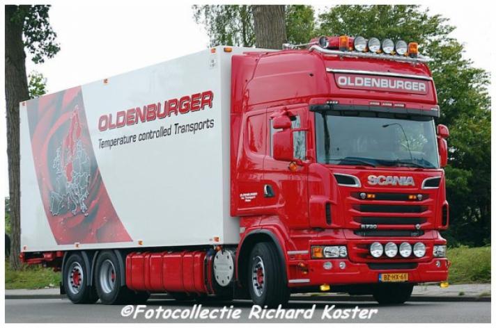 Scania R730 combi voor Oldenburger