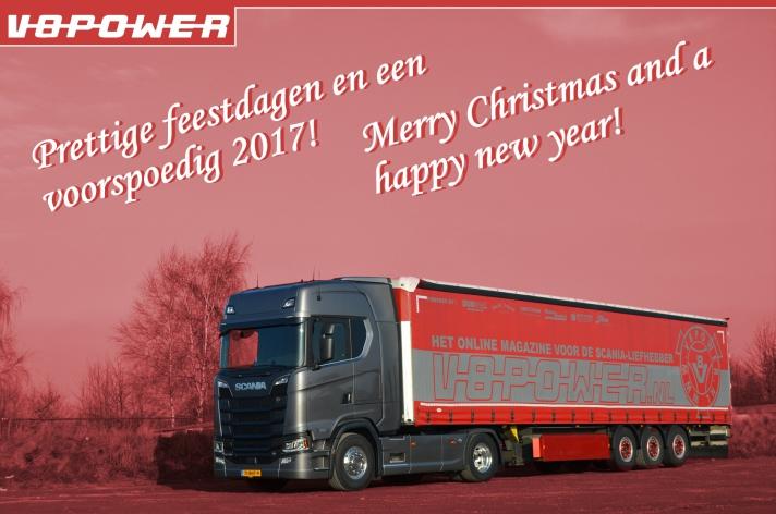 Het V8power team wenst u prettige feestdagen!