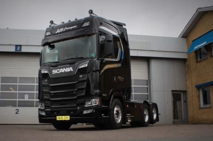 Scania S580 voor BLS Transport (DK)