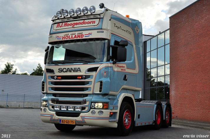 Scania R730 voor P.J. Hoogendoorn