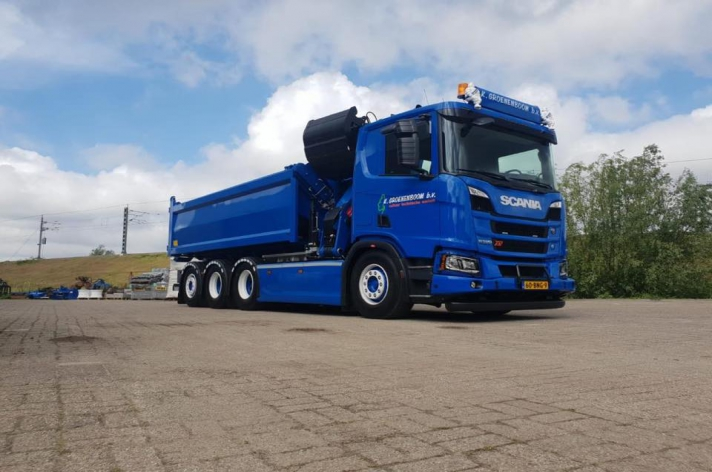 Scania R520 XT voor K.Groenenboom B.v.
