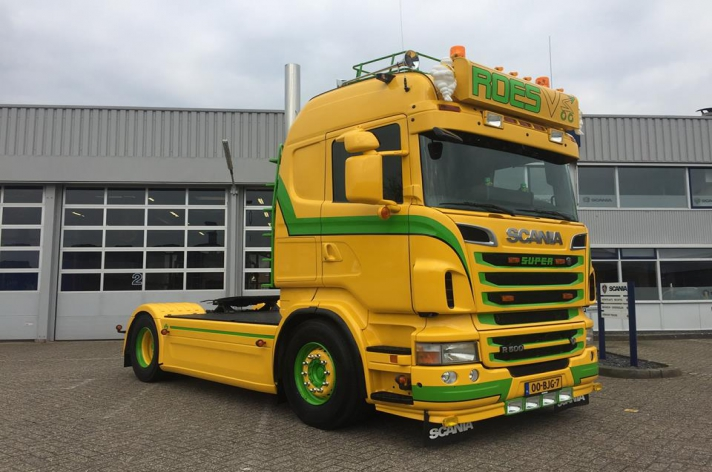 Scania R500 voor Roes uit Didam