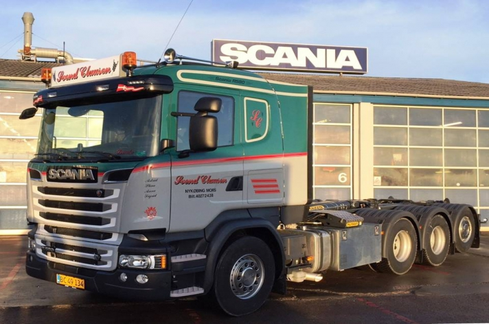 Scania R520 voor Svend Clausen (DK)