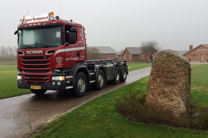 Scania R580 voor Laust Svalgaard (DK)