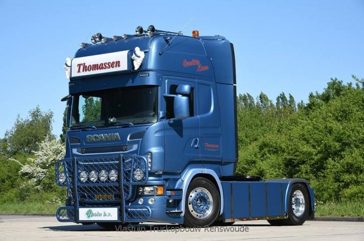 Tweedehands Scania R500 voor Thomassen