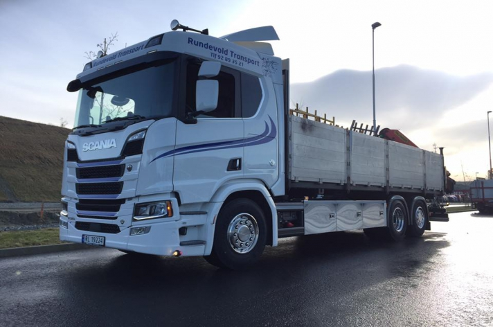 Scania R580 Nextgen voor Rundevold Transport As (NO)