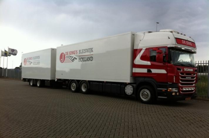 Scania R500 voor De Jong's Bleiswijk