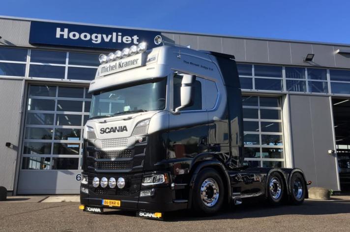 Scania S580 voor Michel Kramer