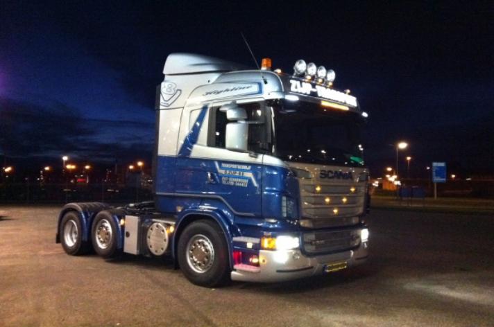 Scania R500 voor D. Zijp Transport