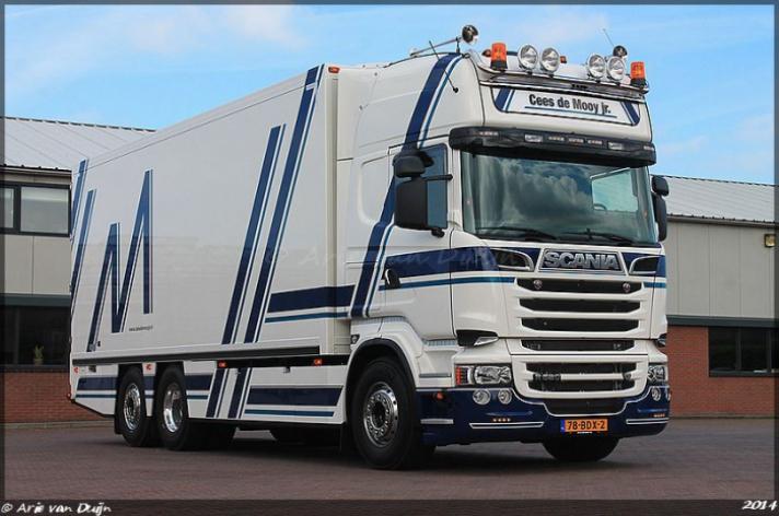 Scania R520 voor Cees de Mooy jr.