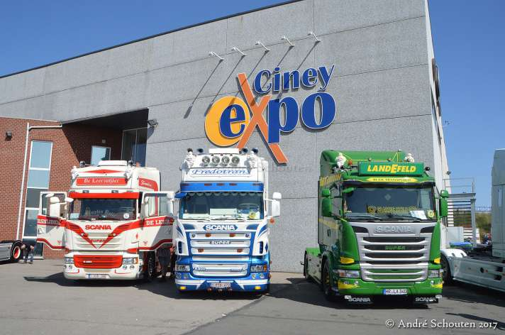 2017 Truckshow Ciney
