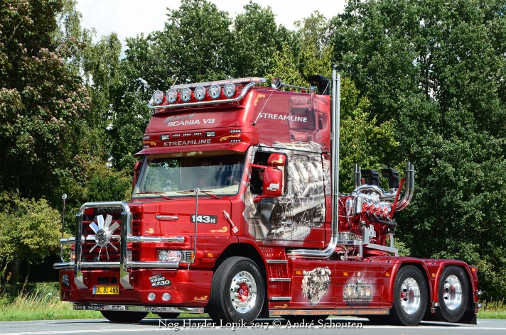 Fotoimpressie truckshow Nog Harder Lopik