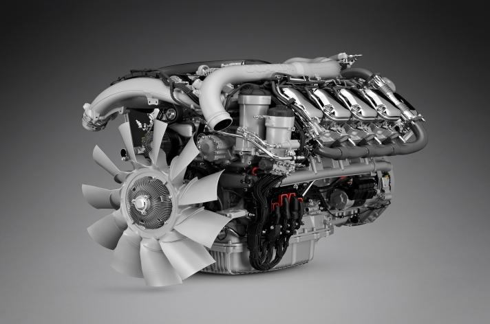 Nieuwe V8 motorengamma